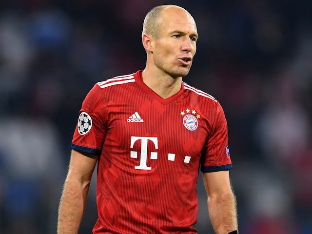 Arjen Robben to leave Bayern at end of season