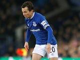 Bernard in action for Everton on November 24, 2018