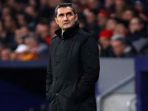 Barcelona boss Ernesto Valverde pictured on November 24, 2018