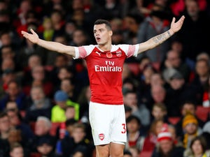 Arsenal midfielder Granit Xhaka pictured in November 2018