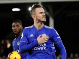 James Maddison scores an equaliser for Leicester City on December 5, 2018