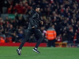 Liverpool boss Jurgen Klopp invades the pitch on December 2, 2018