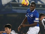 Kurt Zouma in action for Everton on December 5, 2018