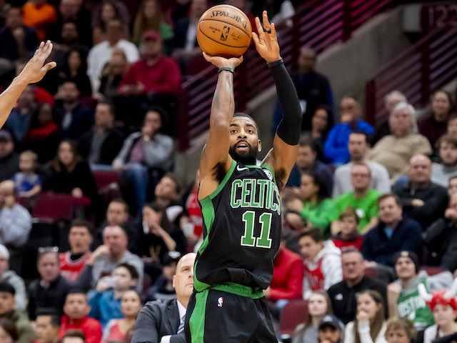 209c7f77fa2 Result  Kyrie Irving shines in overtime as Boston Celtics make it seven in  a row