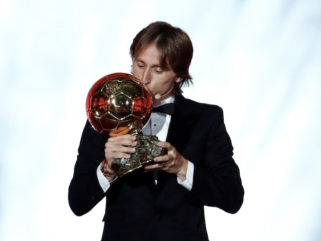 Luka Modric fulfils childhood dream by landing Ballon d'Or