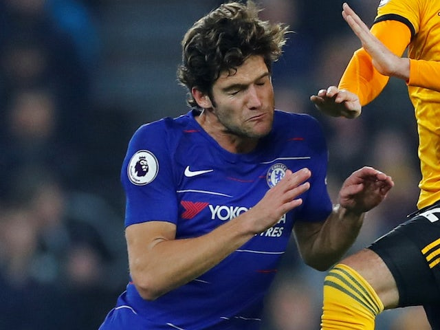 Chelsea defender Marcos Alonso not focusing on Premier League table
