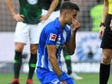 Marko Grujic in action for Hertha Berlin on September 15, 2018