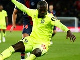 Nicolas Pepe in action for Lille on November 2, 2018