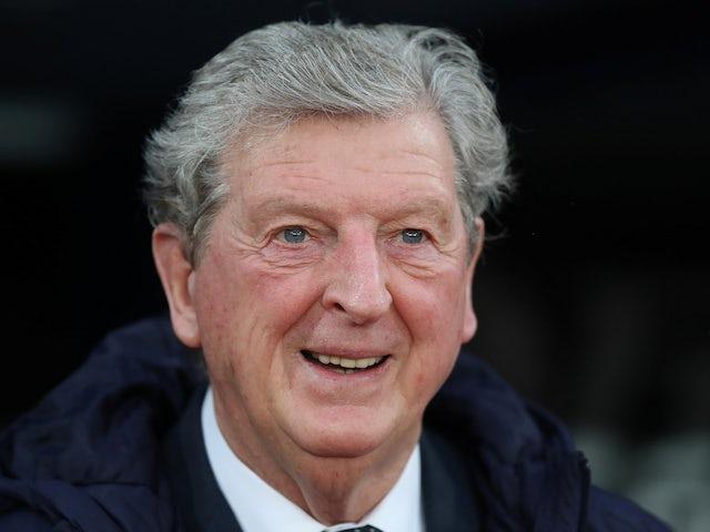 Crystal Palace manager Roy Hodgson cracks a smile on December 1, 2018