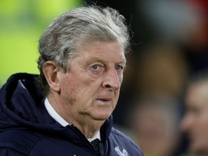 Crystal Palace manager Roy Hodgson cuts a frustrated figure on December 4, 2018