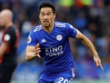Shinji Okazaki in action for Leicester City on September 22, 2018