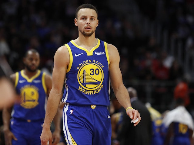 Result: Stephen Curry return cannot prevent Golden State going down to Detroit