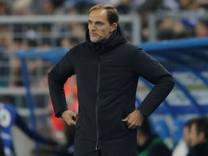 PSG manager Thomas Tuchel watches the action on December 5, 2018