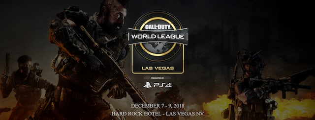 The start of 2019 Call of Duty World League