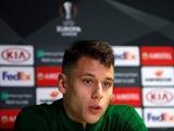 Filip Benkovic in a Celtic press conference on December 12, 2018