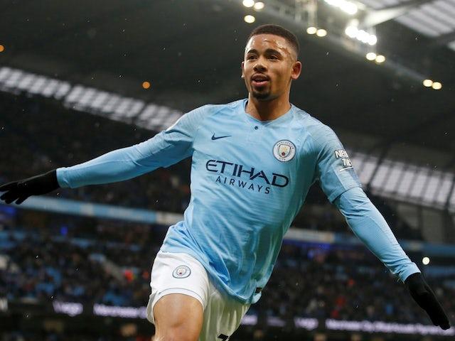 Result: Jesus brace helps Man City regain top spot