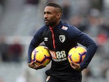 Jermain Defoe with a pair of balls on November 10, 2018