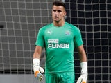 Karl Darlow in action for Newcastle United on August 1, 2018
