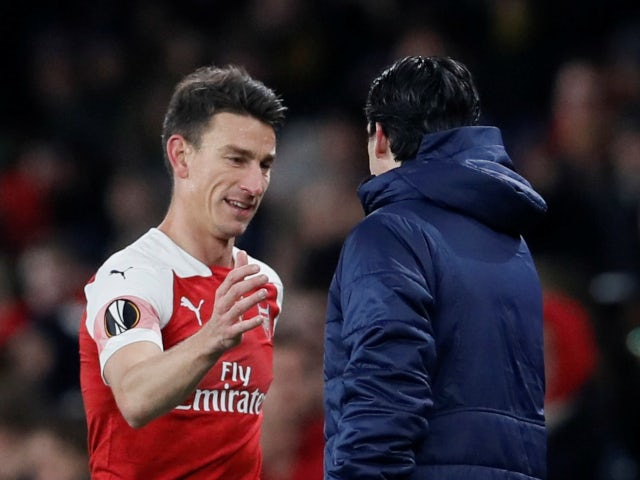 Unai Emery: 'Laurent Koscielny still an important player for Arsenal'