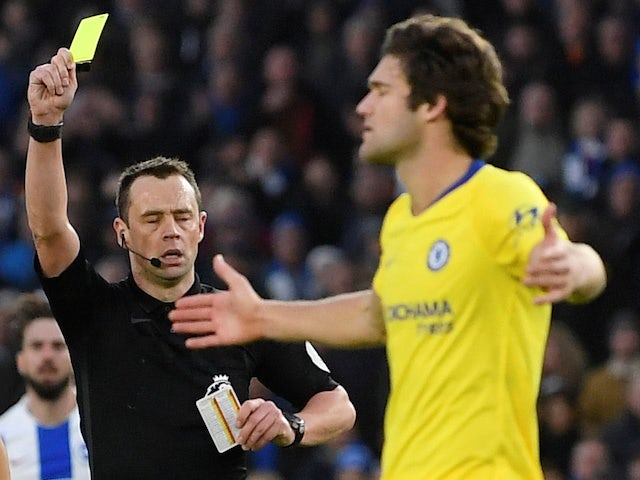 Hughton feels Alonso should have seen red as Chelsea hold on for narrow win