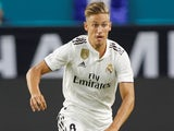 Marcos Llorente in action for Real Madrid on July 31, 2018