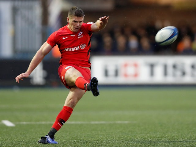 Result: Saracens storm on with win over Cardiff