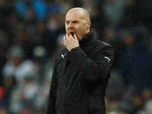 Sean Dyche watches on during the Premier League game between Tottenham Hotspur and Burnley on December 15, 2018