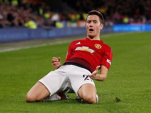 Ander Herrera scores the second during the Premier League game between Cardiff City and Manchester United on December 22, 2018