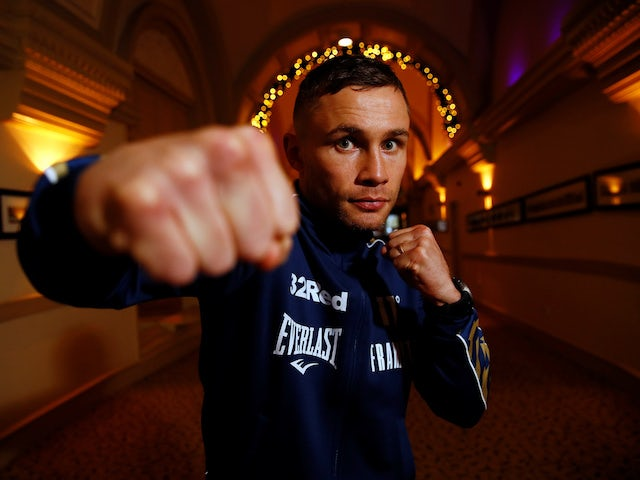 Carl Frampton eager to move on from