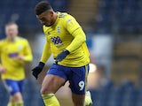 Che Adams in action for Birmingham City on December 15, 2018