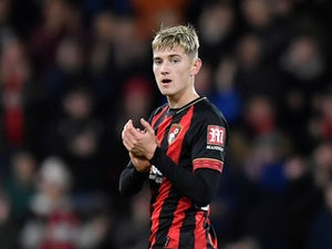 David Brooks celebrates his brace for Bournemouth on December 22, 2018