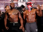 Scuffle breaks out as Whyte and Chisora face-off