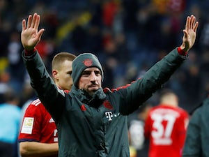 Ribery at the double as Bayern punish wasteful Frankfurt
