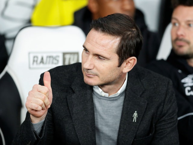 Frank Lampard unhappy with referee as Derby draw with rivals Nottingham Forest