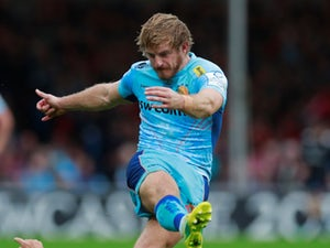 Gareth Steenson helps kick leaders Exeter to hard-fought victory over Gloucester
