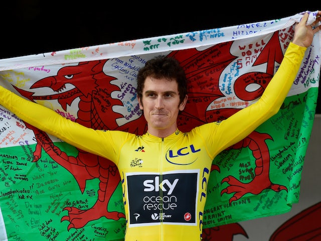 Geraint Thomas hospitalised after crash in Tour de Suisse