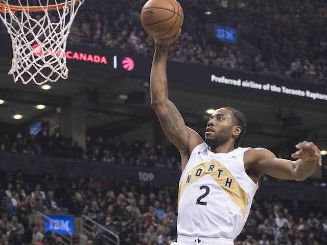 Result: Leonard matches season-high 37 points as Raptors defeat Cavs