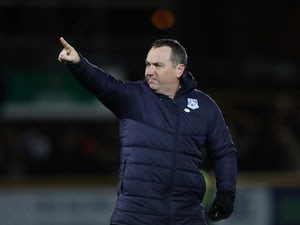 Mellon pleased with Tranmere's slender lead over Forest Green