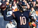 Mitchell Trubisky in action for Chicago Bears on December 16, 2018