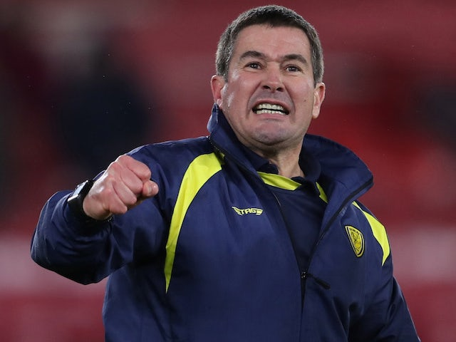 Clough urges Burton to savour experience as they chase Man City upset