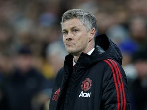 Interim Manchester United manager Ole Gunnar Solskjaer watches on during his side's Premier League clash with Cardiff City on December 22, 2018