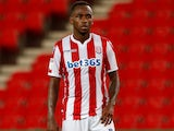 Saido Berahino in action for Stoke City on September 3, 2018