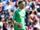 Vicente Guaita in action for Crystal Palace on August 4, 2018