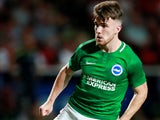Aaron Connolly in action for Brighton & Hove Albion on July 24, 2018