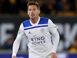 Adrien Silva in action for Leicester City in the EFL Cup on September 25, 2018