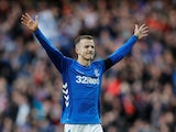 Andy Halliday of Rangers celebrates on December 29, 2018