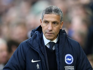 Brighton manager Chris Hughton pictured on December 29, 2018