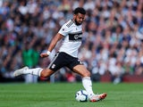 Cyrus Christie in action for Fulham on October 7, 2018