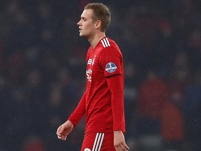 James Wilson set to leave Manchester United