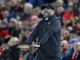 Liverpool manager Jurgen Klopp on December 29, 2018